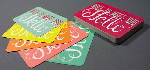 business card designs inspiration ideas from 5 great pinterest boards - Business Cards Ideas Designs