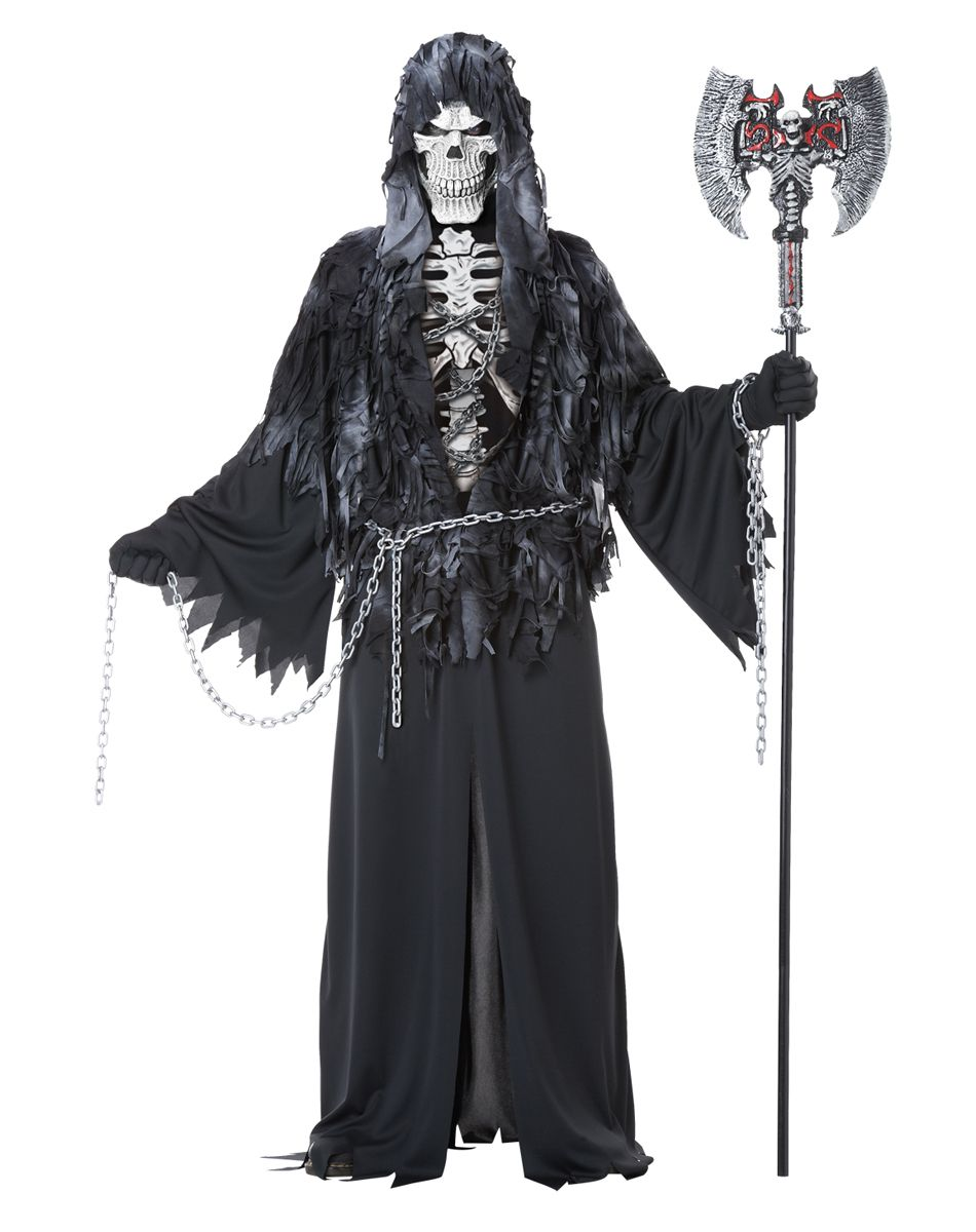 Evil Unchained Adult Mens Costume at Spirit Halloween - Death has ...