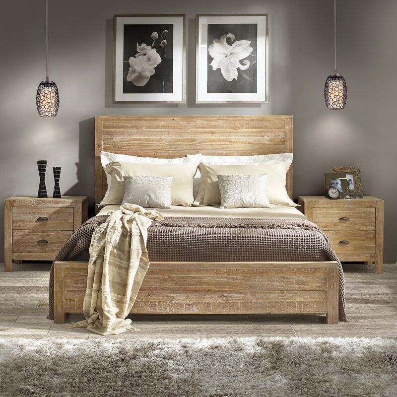 Montauk Solid Wood Bed
