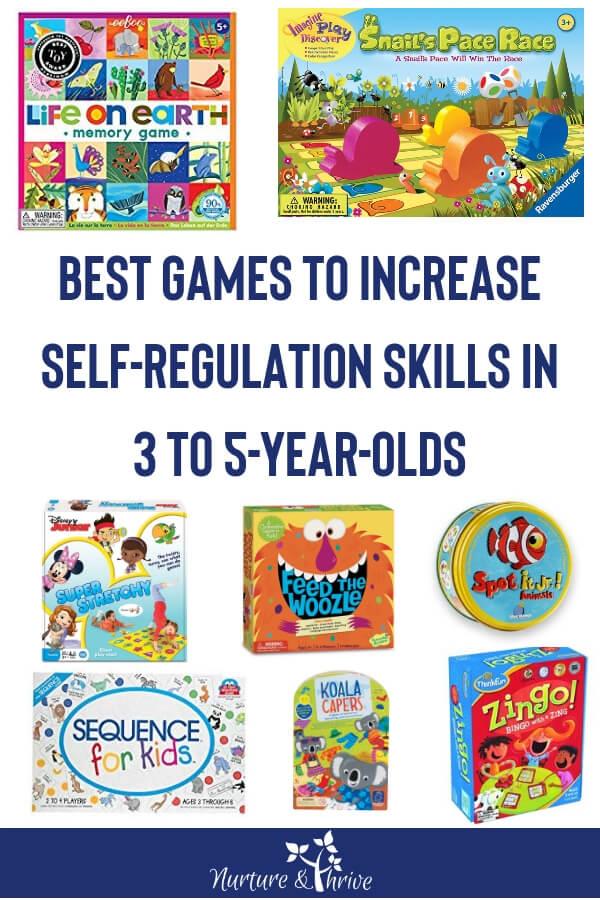 Best Games to Increase SelfRegulation Skills in 35 Year