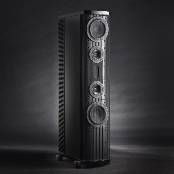 "Gryphon Phanteon While it would be arrogant to refer to The Gryphon Pantheon as a ""compact"" loudspeaker, it is, despite its imposing, stylish presence, the slimmest floor-standing model in the exclusive, luxurious Gryphon Audio Designs loudspeaker range. #altavoces #altavocesessuelo"