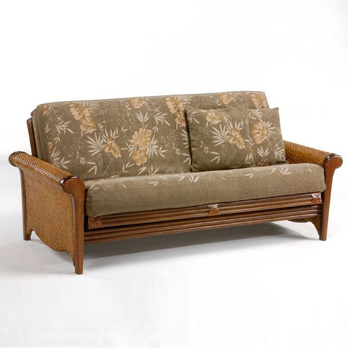 rosebud rattan  plete futon set       discovered at www dcgstores  rosebud rattan  plete futon set       discovered at www      rh   pinterest