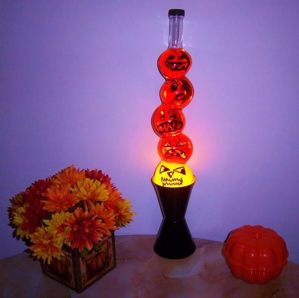 Custom Halloween Lava Lamp