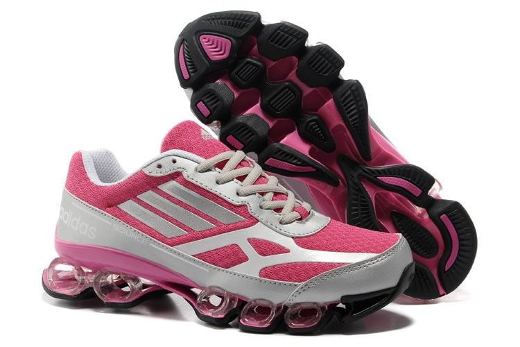best website e857c d17f5 Adidas Bounce Five-Star V5 Pink Grå Sort Damesko