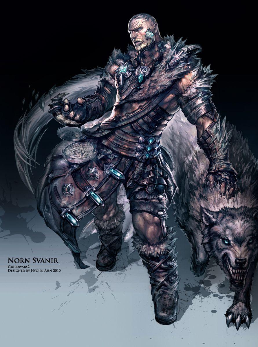 Guild wars 2 gw2 darkened desires gw2 fashion - Guild Norn Svanir By Hyojin Ahn