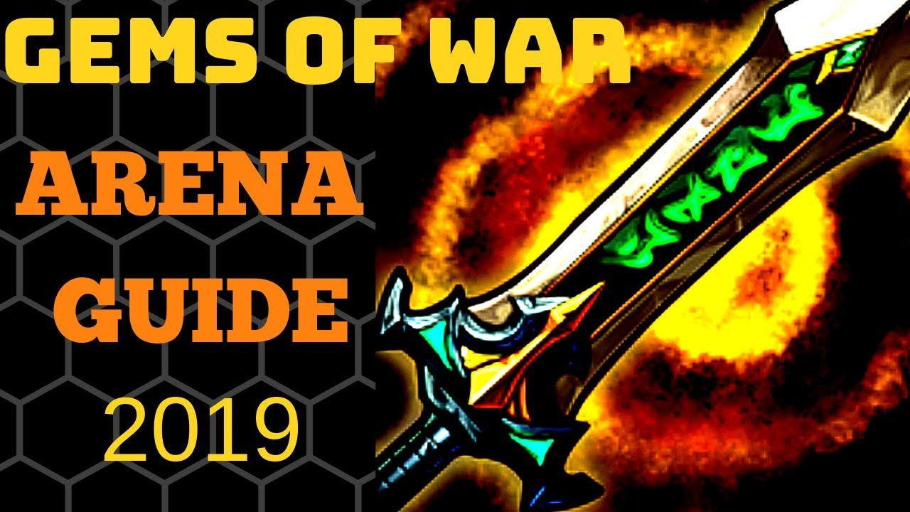 Gems of War arena guide 2019 How to beat arena w/o