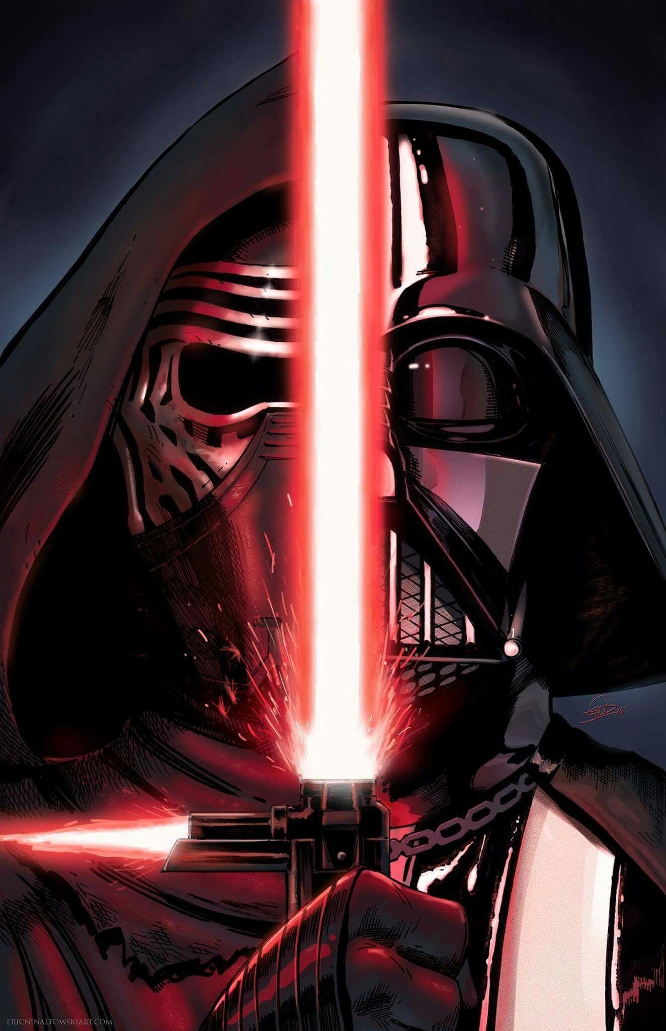 Kylo Ren Poster Wall Art Print Picture Jedi Master Darth Vader Star Wars Skywalk