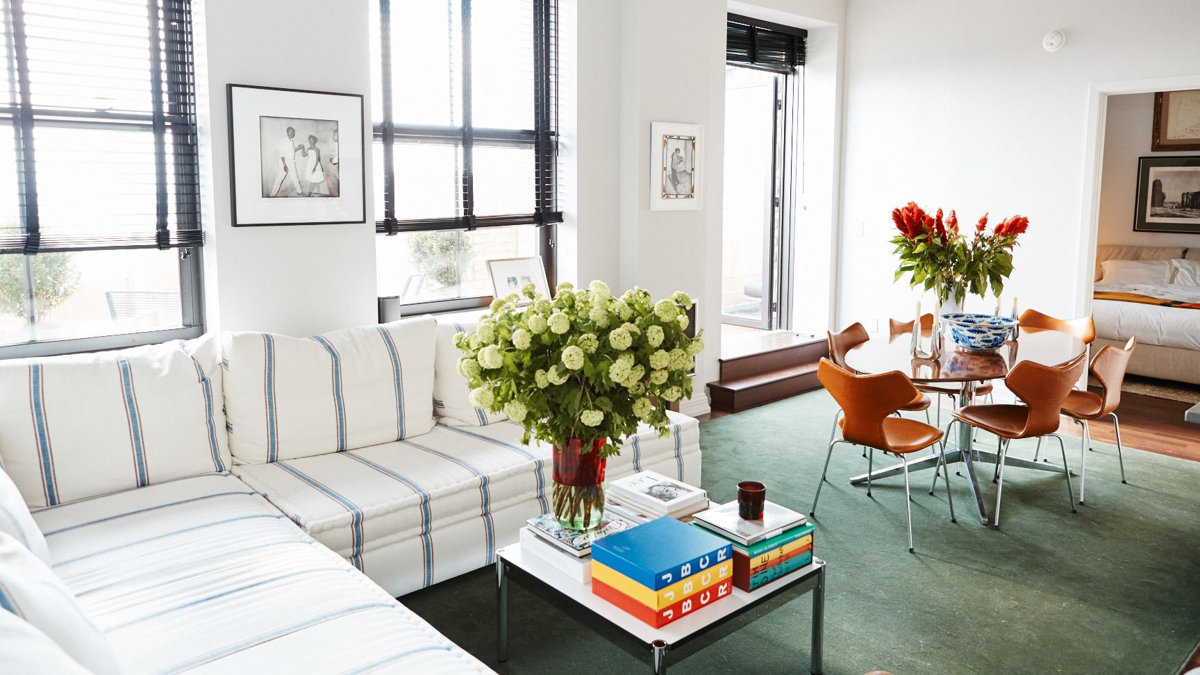 Inside a World Traveler\'s Brooklyn Apartment | More White sectional ...
