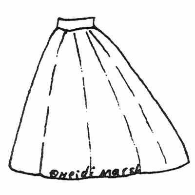 Amazon Drygoods - Elliptical Petticoat, $11.95 (http://www.amazondrygoods.com/products/elliptical-petticoat.html/)