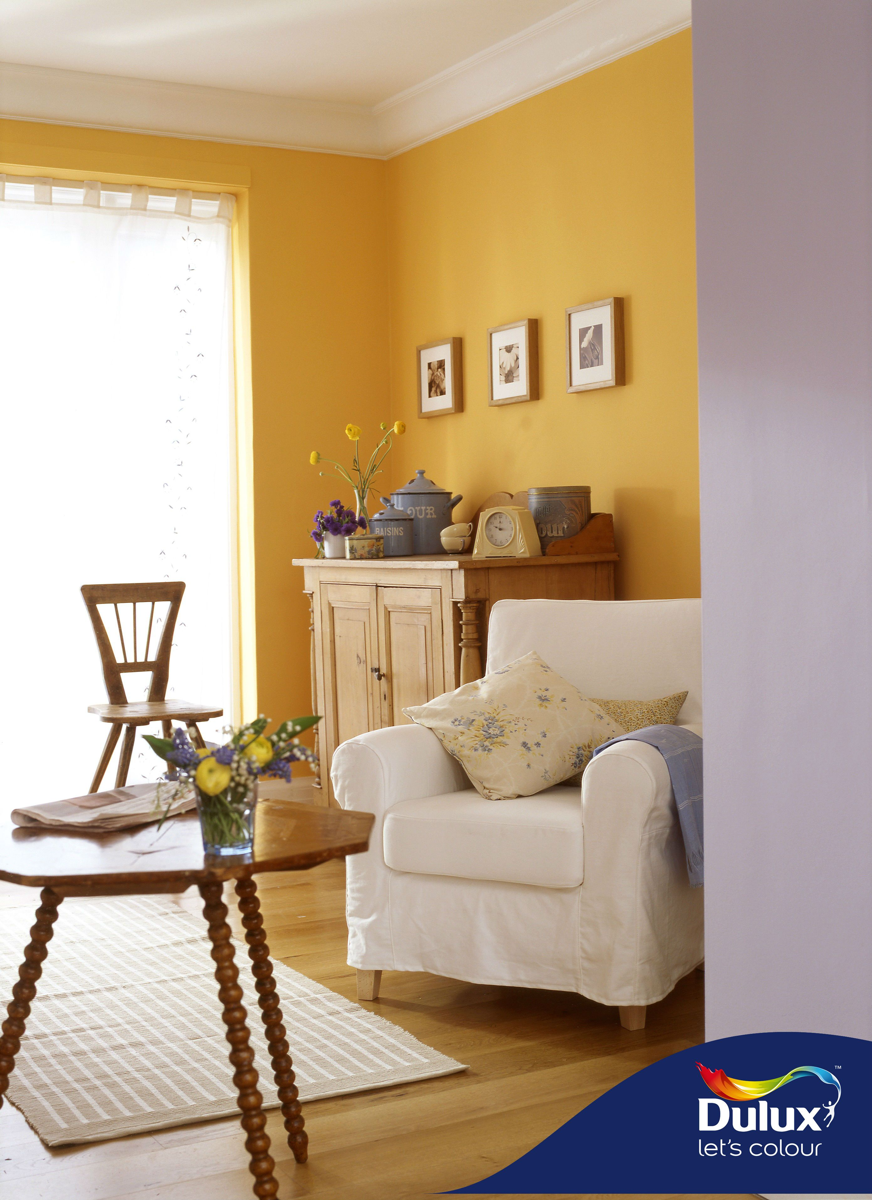 Plus painting and decorating tips from a which? Adding a tinge of mustard-gold yellow to the cozy corner