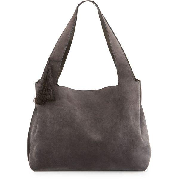 c1a9119561 THE ROW Duplex Suede Satchel Bag ( 2