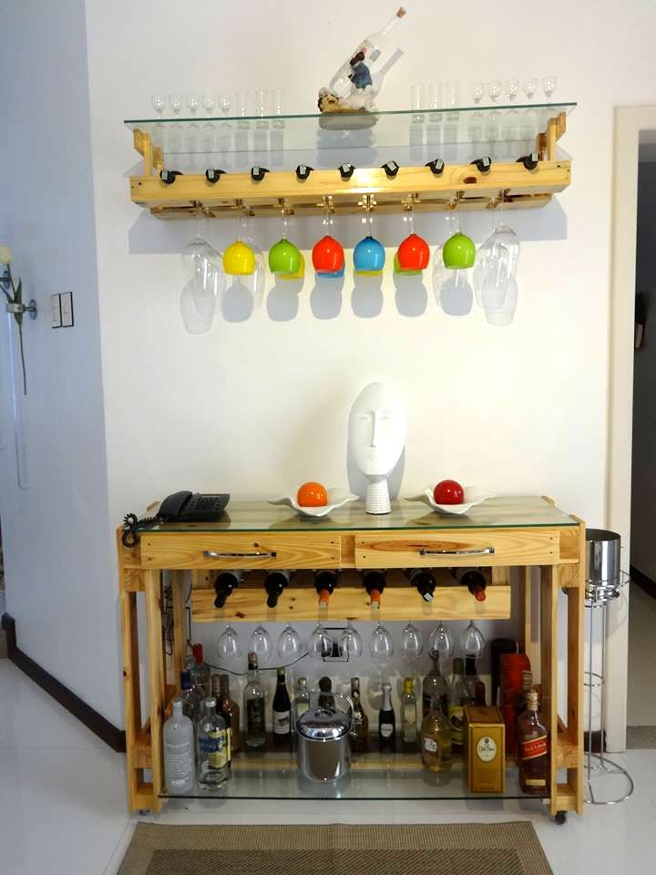 Diy Pallet Furniture And Decoration Ideas Bottle Beverages And