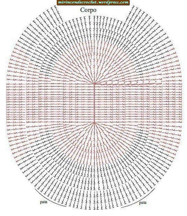 Teppich häkeln - crochet rug - TAPETE DE CROCHE Teppich Häkeln Eule ...