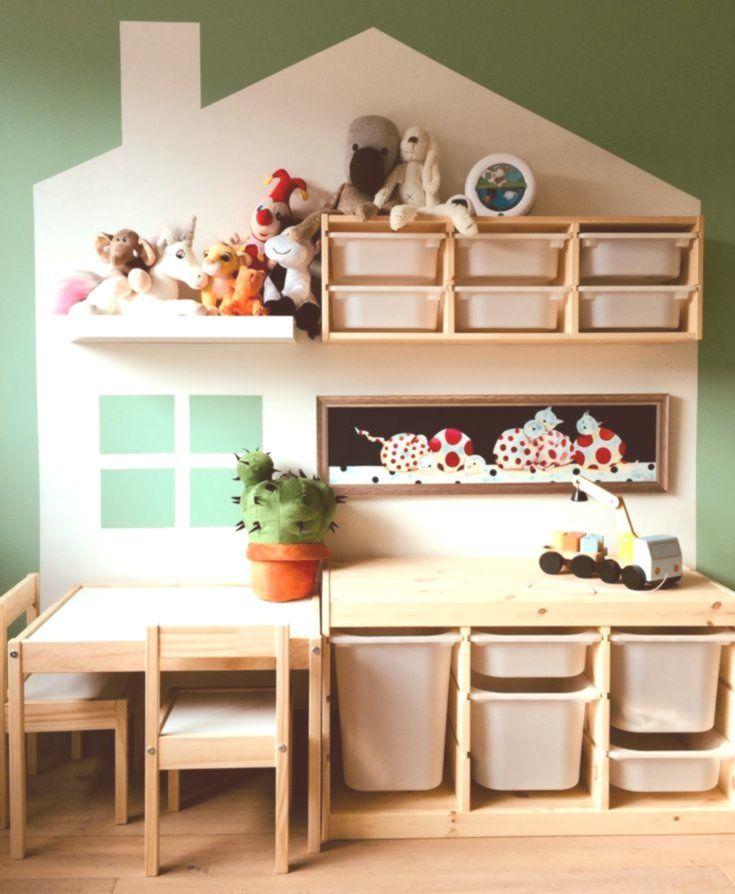 Kinderzimmer mit Ikea Trofast und Latt Kinder zimmer