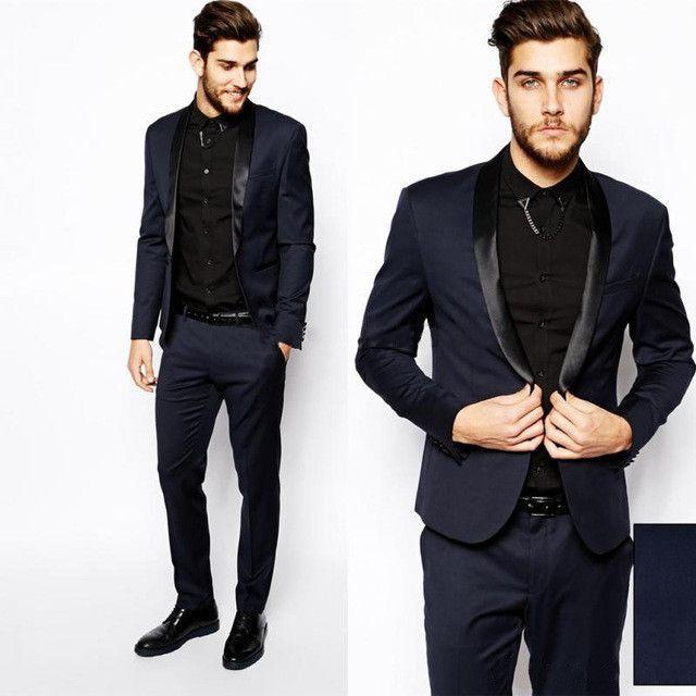 2016 Smoke wedding suits tuxedo prom Pink Styles Custom Made Best ...