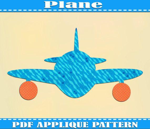 Vintage Airplane Fabric Nursery