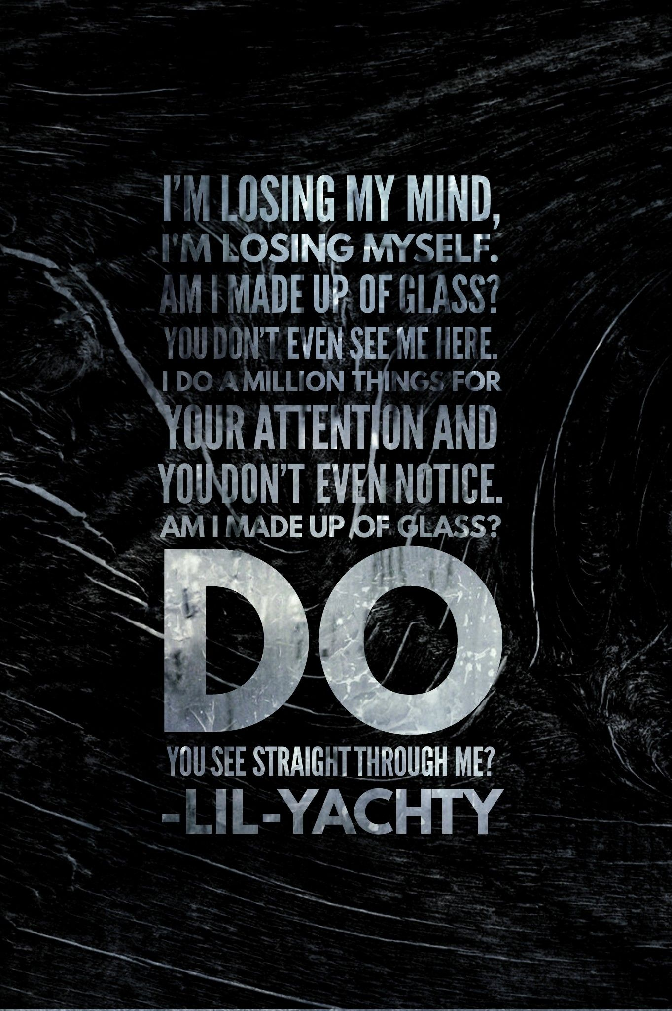 Lil Yachty  Made Of Glass  Rapper Quotes, Cool Words -9791