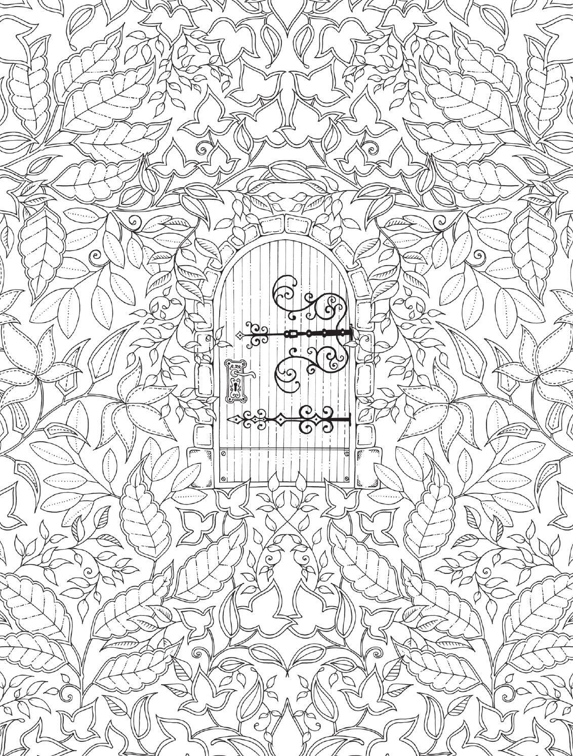 Johanna Basford Tras El Exito Mundial De Jardin Secreto Y Bosque Encantado Presentamos Esta Edicion Especial Con 20 Las Ilustraciones