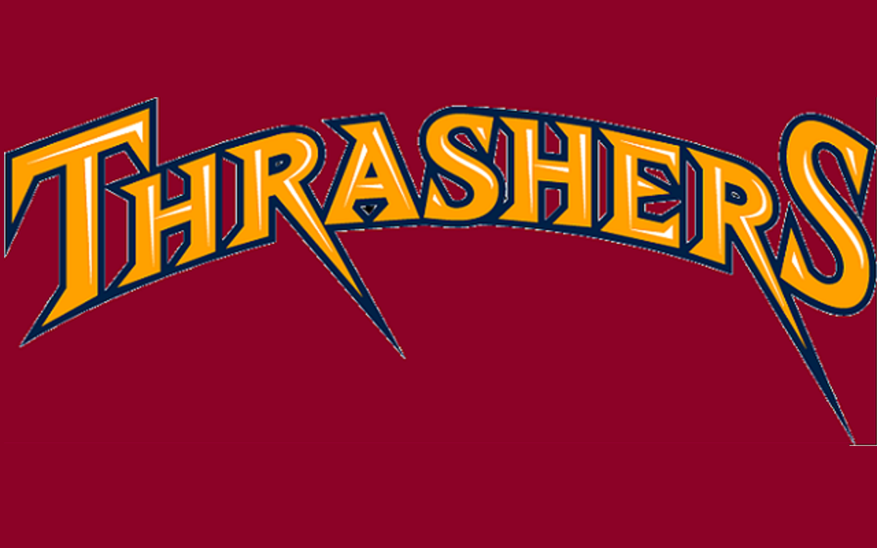 Atlanta Thrashers Hockey logos, Nhl logos, Thrasher