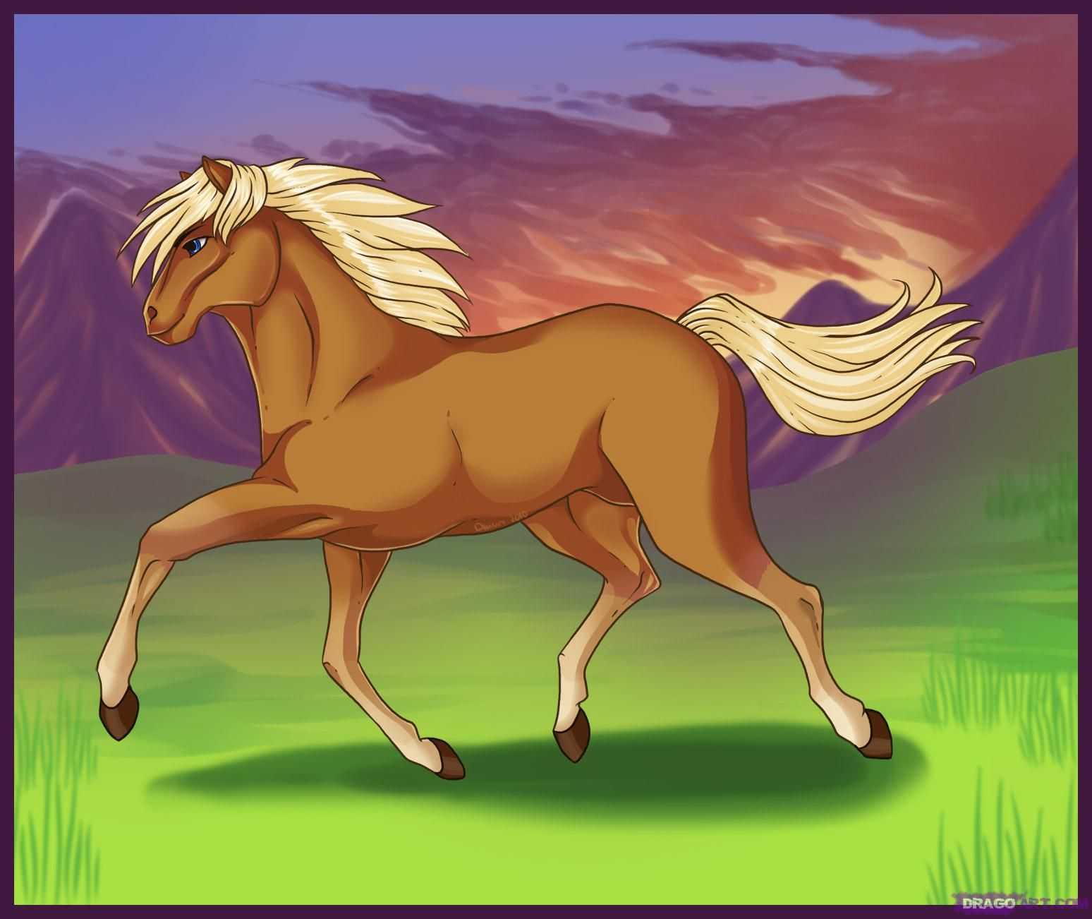 How To Draw A Horse Google Search How To Draw A Horse (running) Step