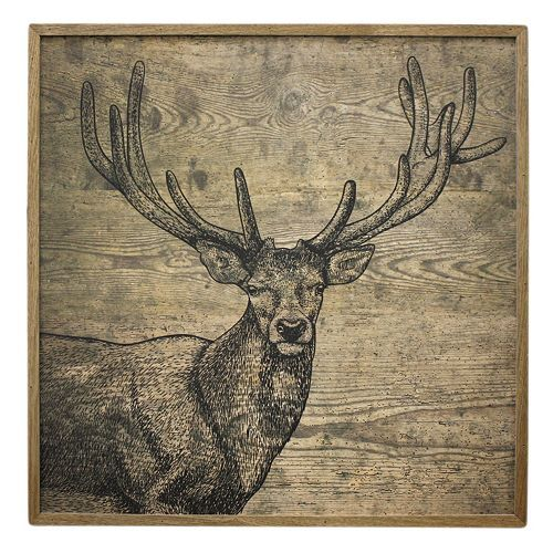 Fetco Newbridge Buck Wall Decor