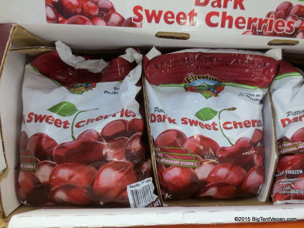Pitted Dark Sweet Cherries (frozen) #costco | Vegan at Costco in