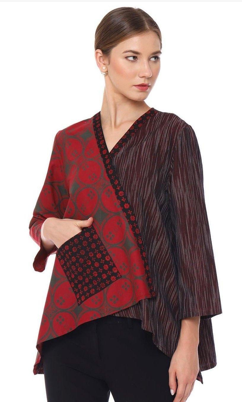 Model Baju Batik Kimono Terbaru