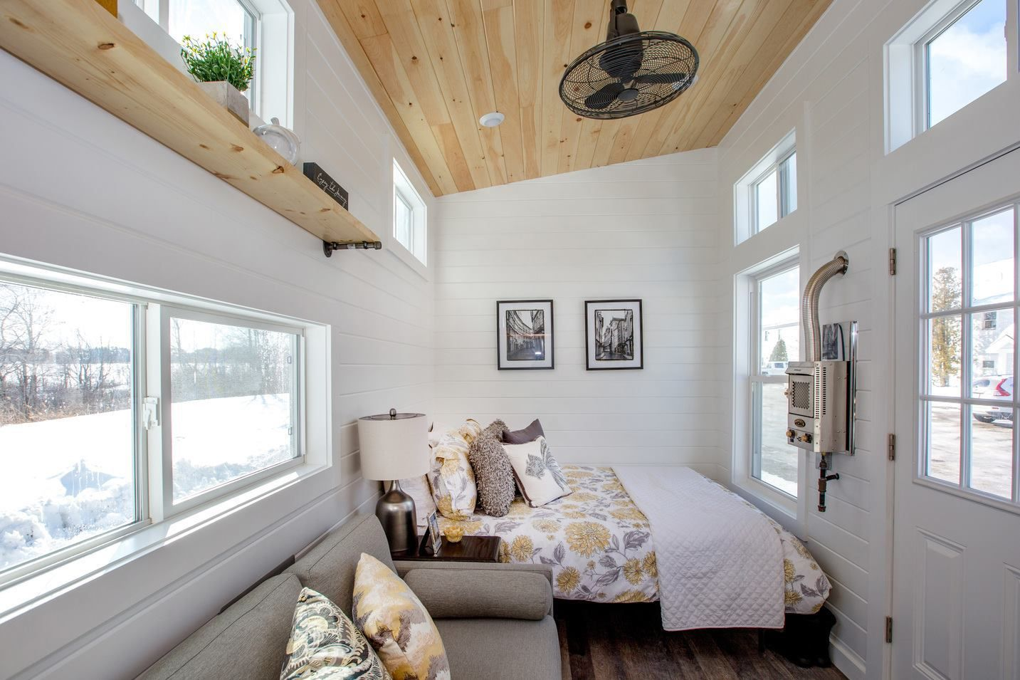 24ft tiny home by global tiny houses tiny living rooms
