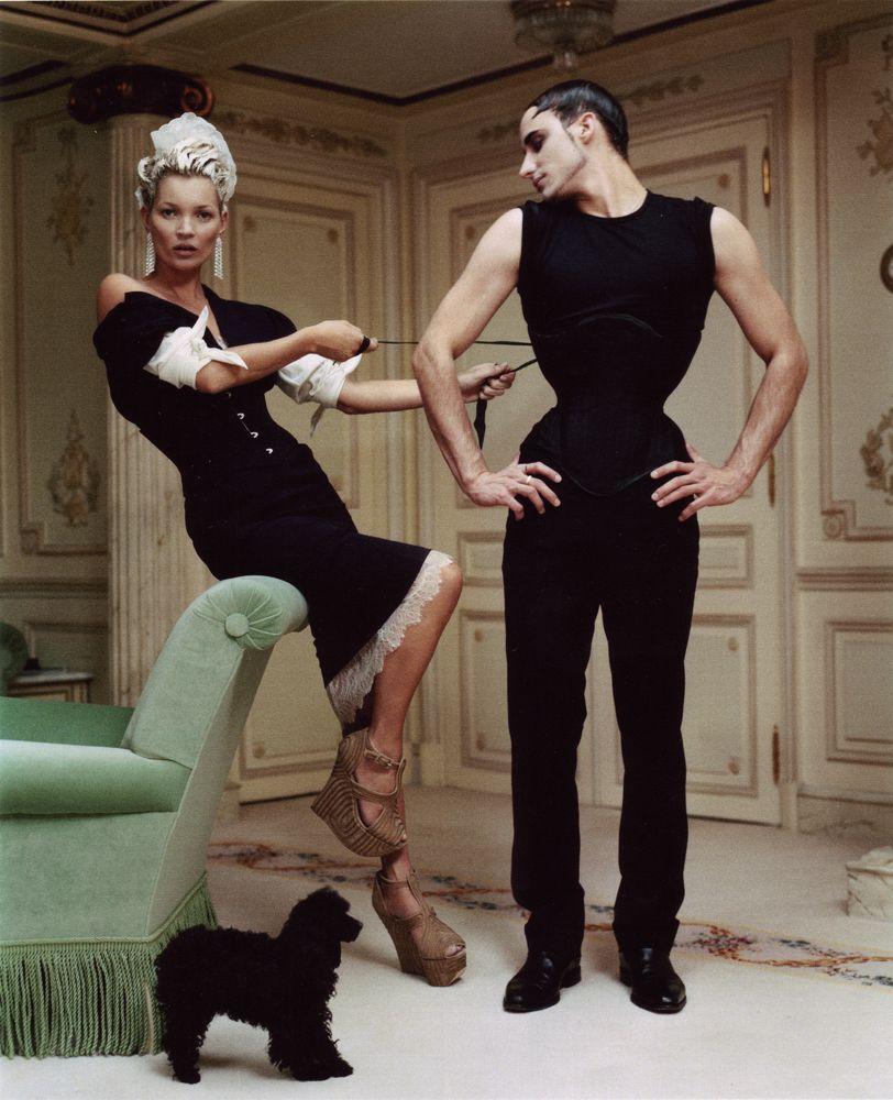 Kate Moss + Gabriel Moginot, photog: Tim Walker, art director: Grace Coddington, Vogue USA April 2012.