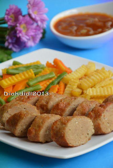 Diah Didi S Kitchen Happy Weekend Mari Masak Galantin Komplet Aja Yummy Resep Makanan Beku Resep Masakan Makanan Beku