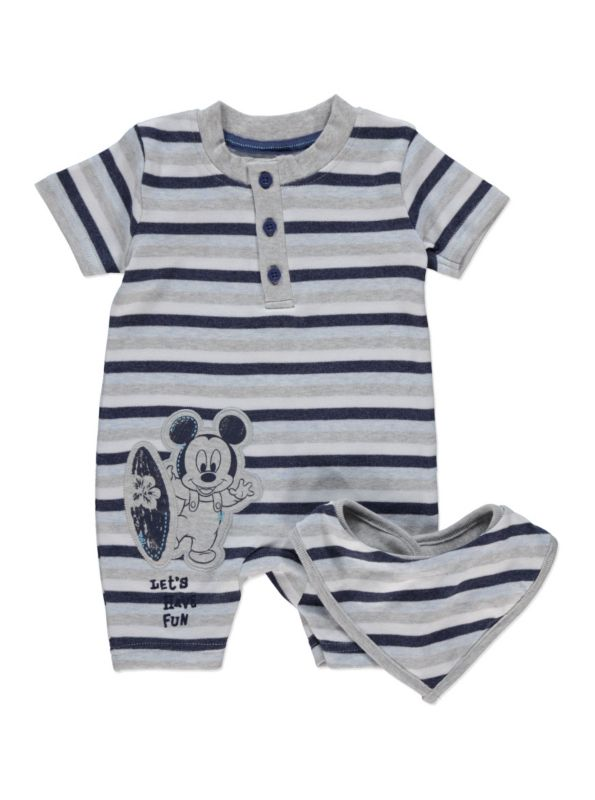 725a0651ac6b7 Disney Mickey Mouse, Cute Baby Clothes, Baby Boy Outfits, Cute Babies,  Rompers