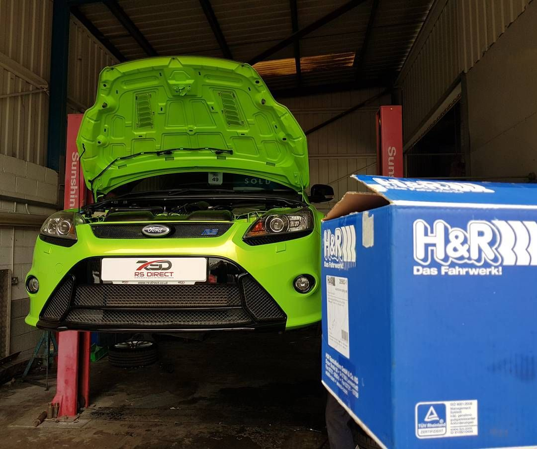 This Ug Ford Focus Rs Is Having Some Nice Modifications Fitted
