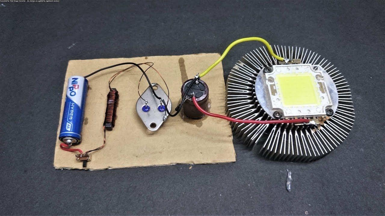 15 Volt 2ah Power Full Dc Boost From 1 5 Volt Aaa Battery Et