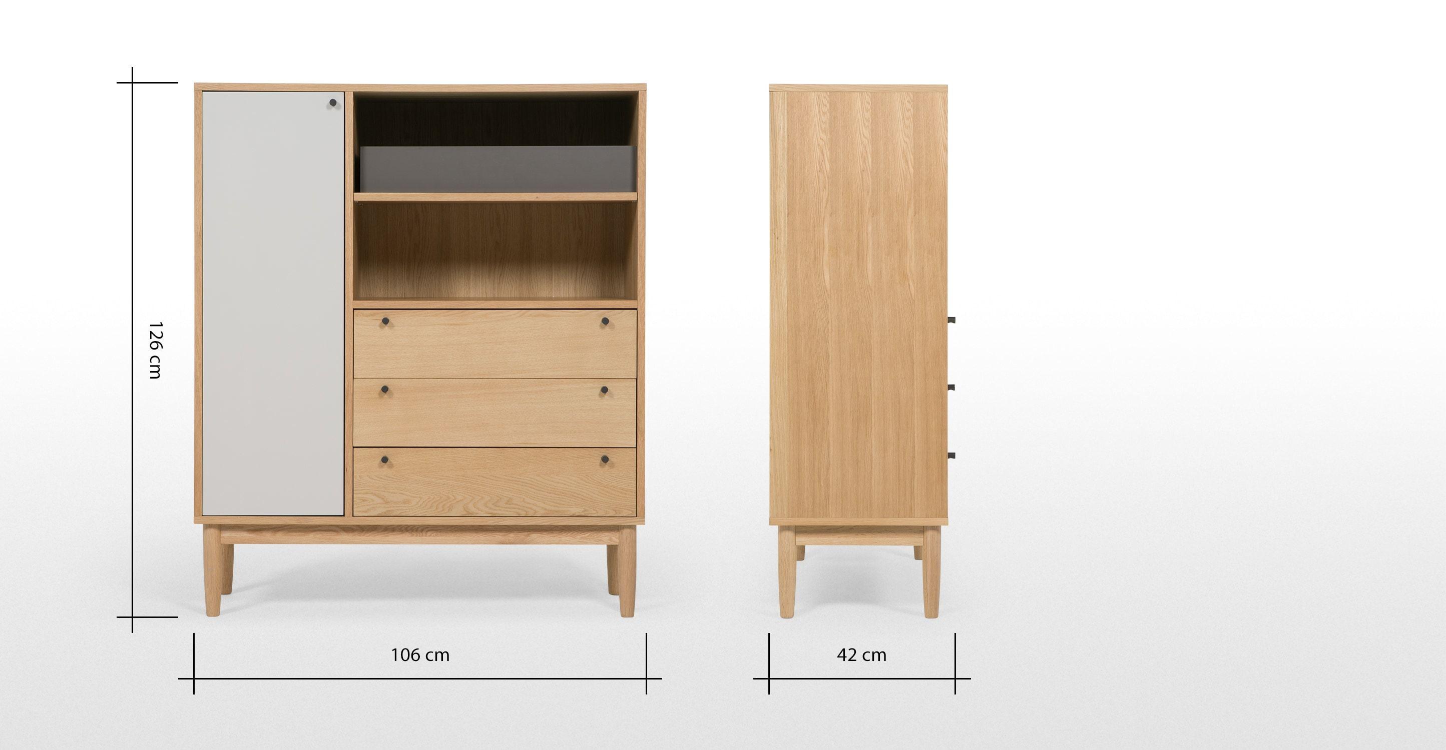 Campton Highboard ▻ Entdecke moderne Designmöbel jetzt bei MADE ...