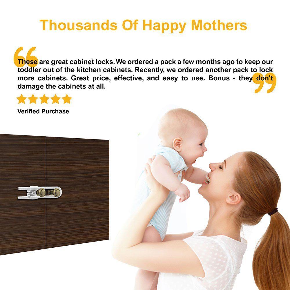 Regional Furniture Sliding Locks MultiPurpose Baby