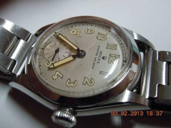 時計 アンティークOYSTERPRECISIONNELSON ¥39600円 〆03月09日