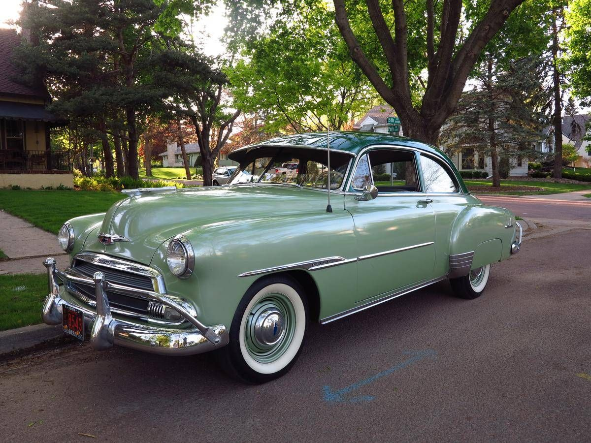 All Chevy 1952 chevy styleline parts : 1951 Chevrolet Deluxe Coupe Maintenance/restoration of old/vintage ...