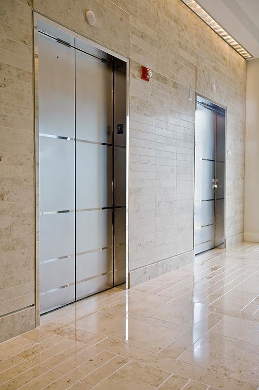 Elevator Door Skins In Stainless Steel With Mirror Finish