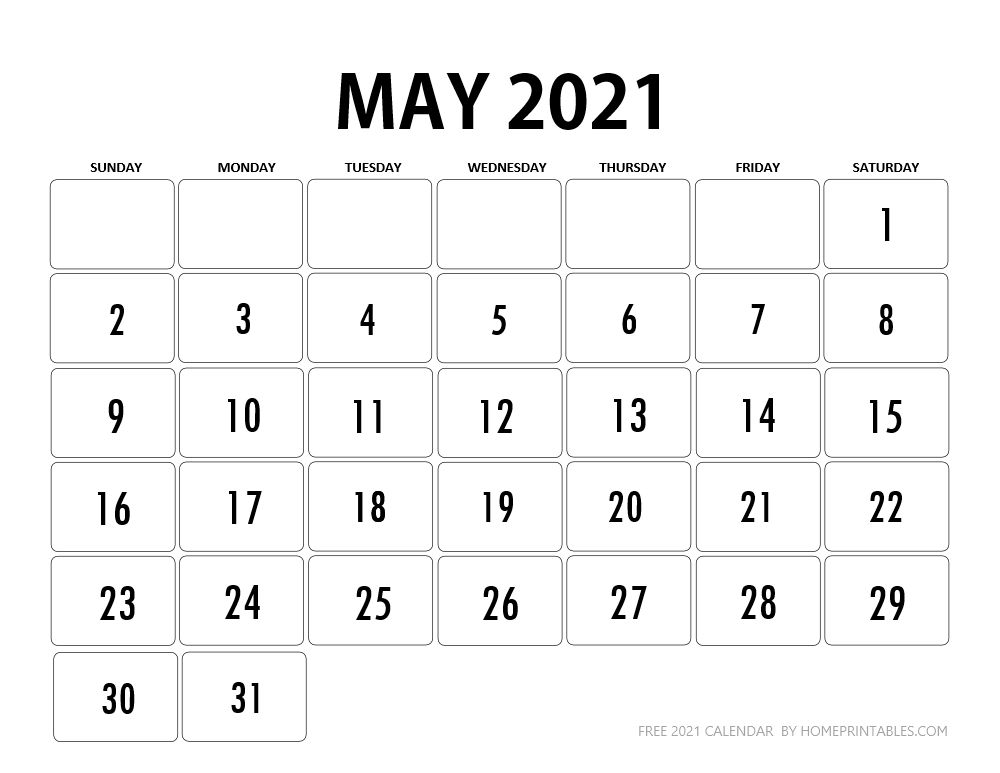 Calendar 2021 Printable for Free Instant Download in 2020 ...