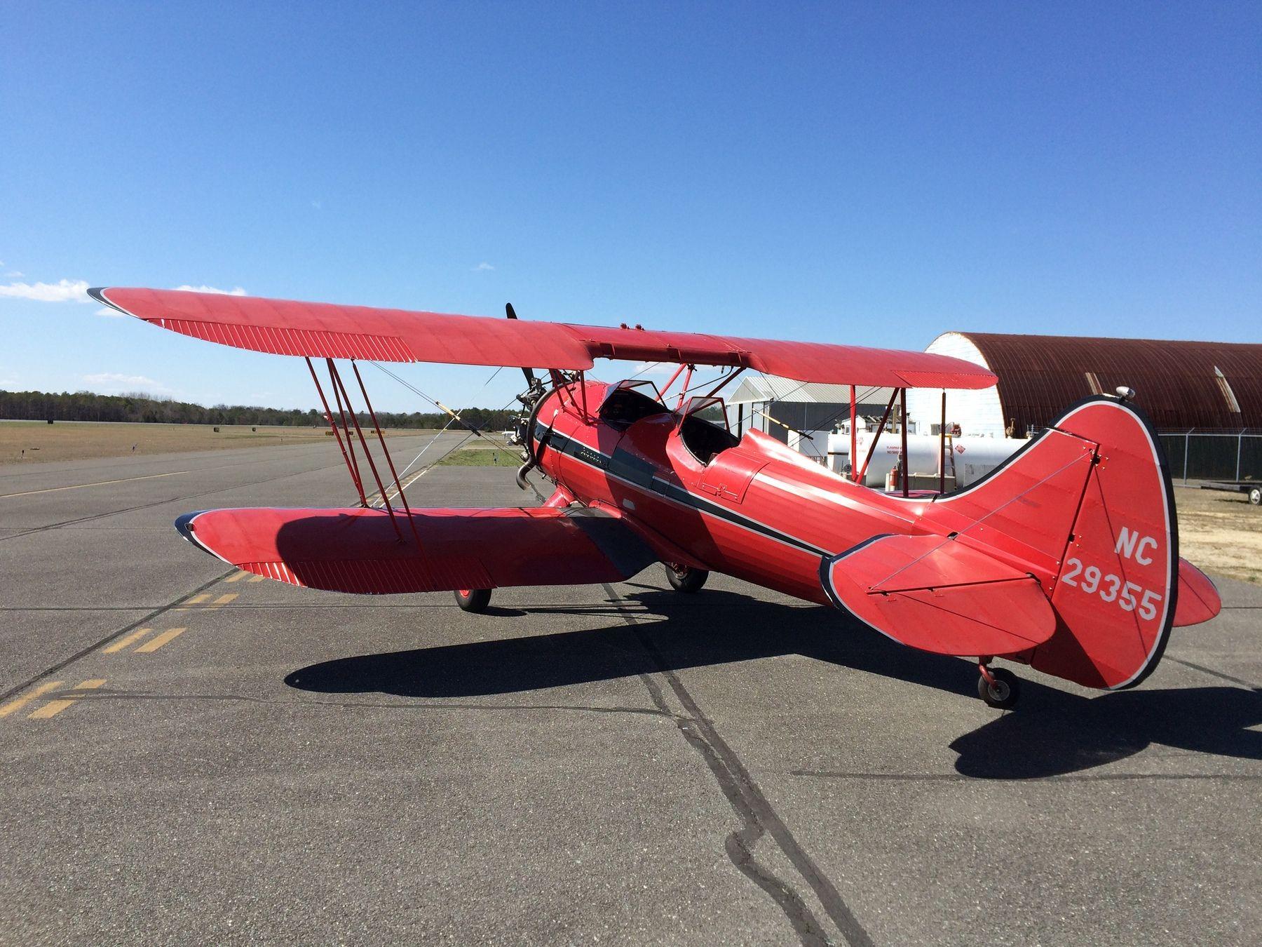 1940 Waco UPF-7 for sale in (KOBI) Woodbine, NJ USA => http://www.airplanemart.com/aircraft-for-sale/Single-Engine-Piston/1940-Waco-UPF-7/10254/