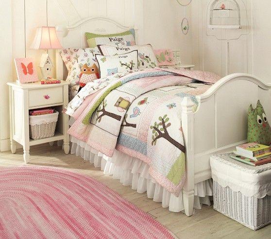 Madeline Quilt Pottery Barn Kids: Barn Bedrooms, Girl
