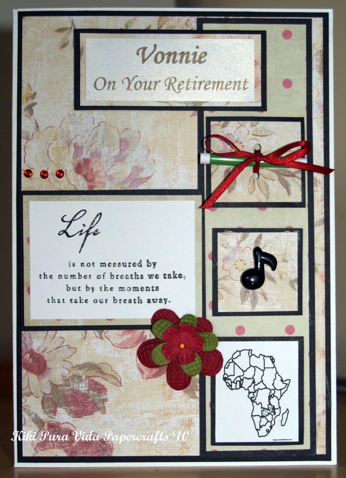 retirement cards | pinkandposh.co.ukPink & Posh |Handmade Retirement Cards
