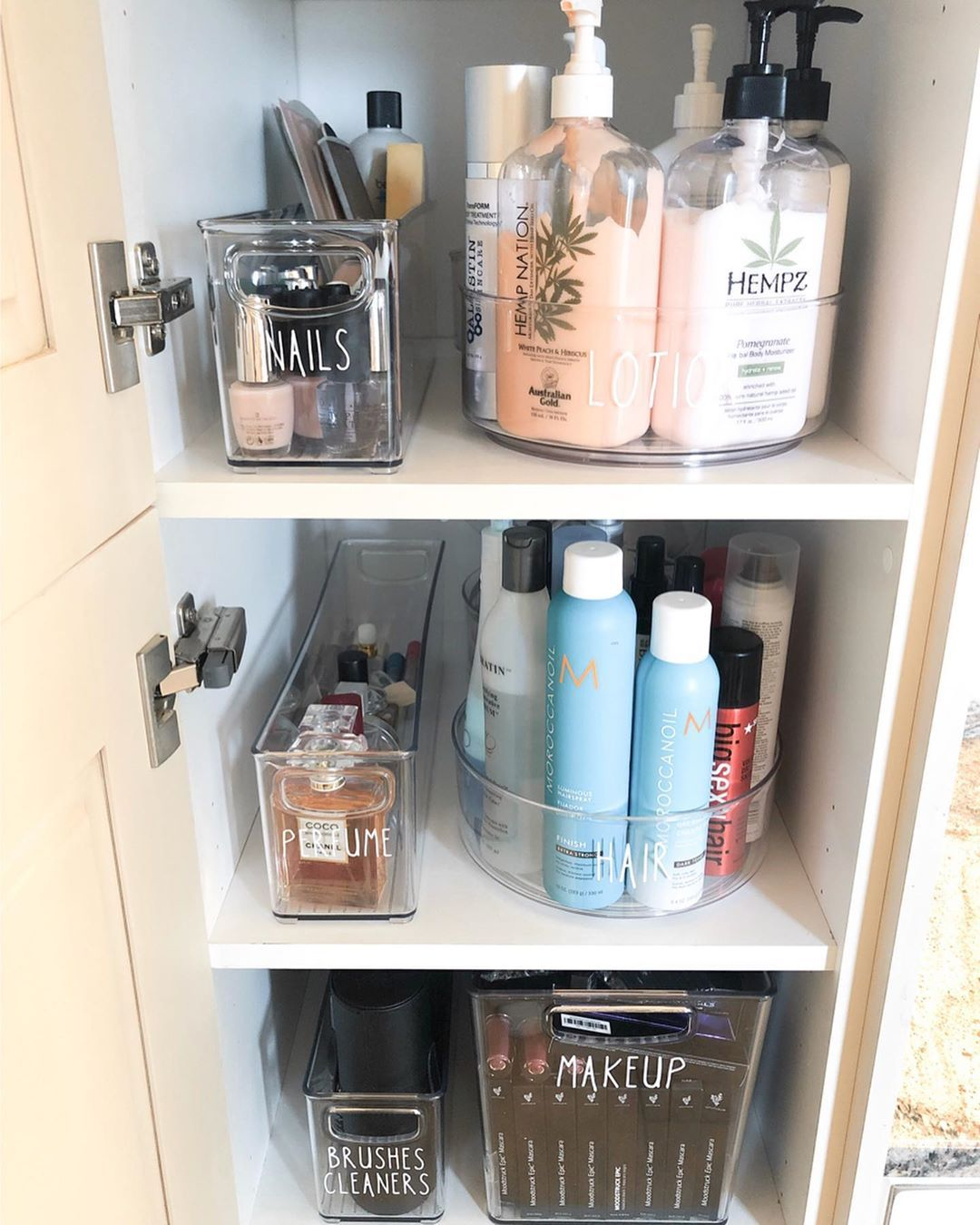 Simply Better Organization On Instagram Ahhhh Sigh Of Relief All Her Needs Right Here Bathroom Closet Organization Bathroom Organisation Home Organisation