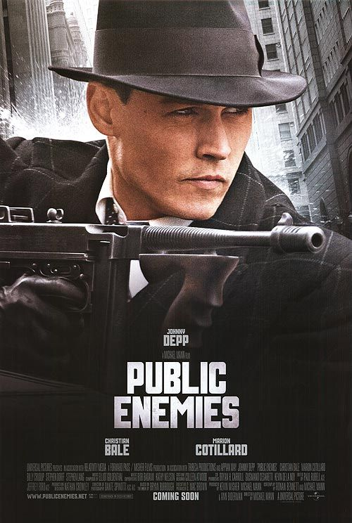 public enemies movie lets go to the movies pinterest