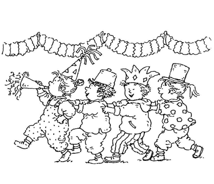 Dibujos de Carnaval para colorear | Niños | Pinterest | Colorear ...