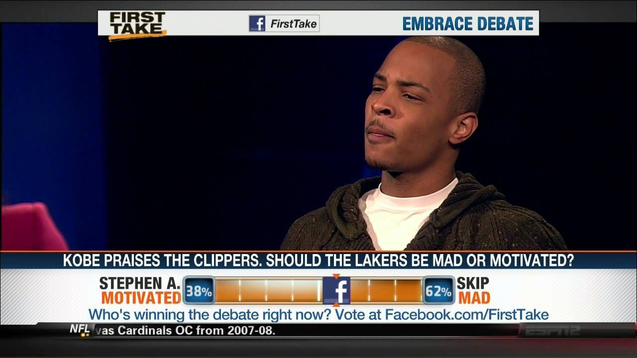 ESPN's 'first take' involves fans in their show by
