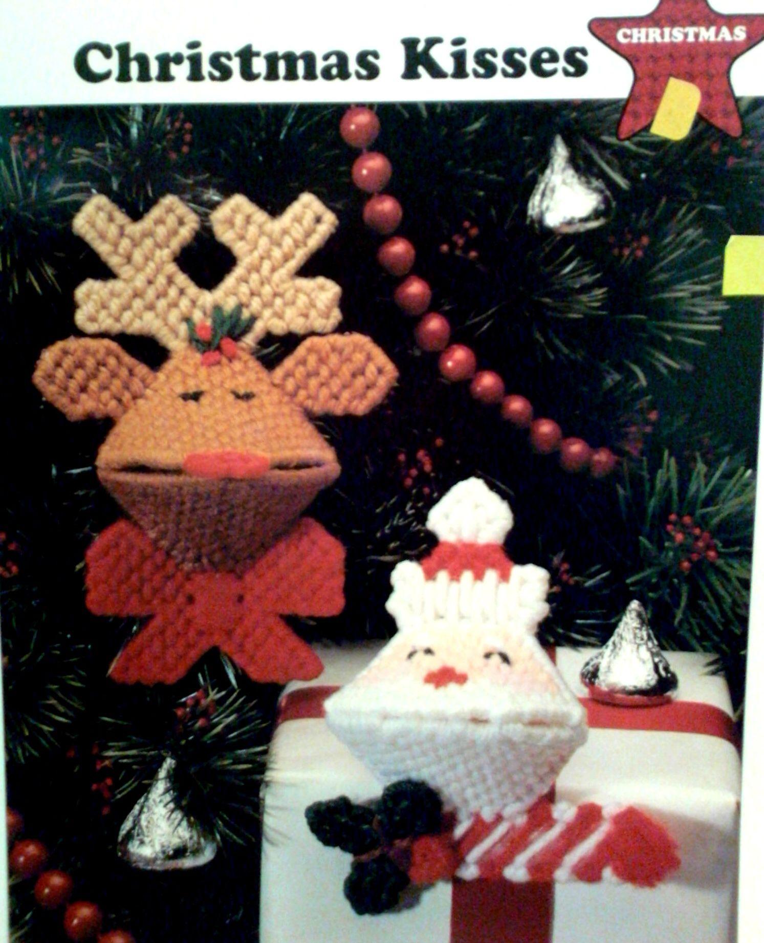 Christmas kisses plastic canvas   Craft PC Kisses Squeezables ...