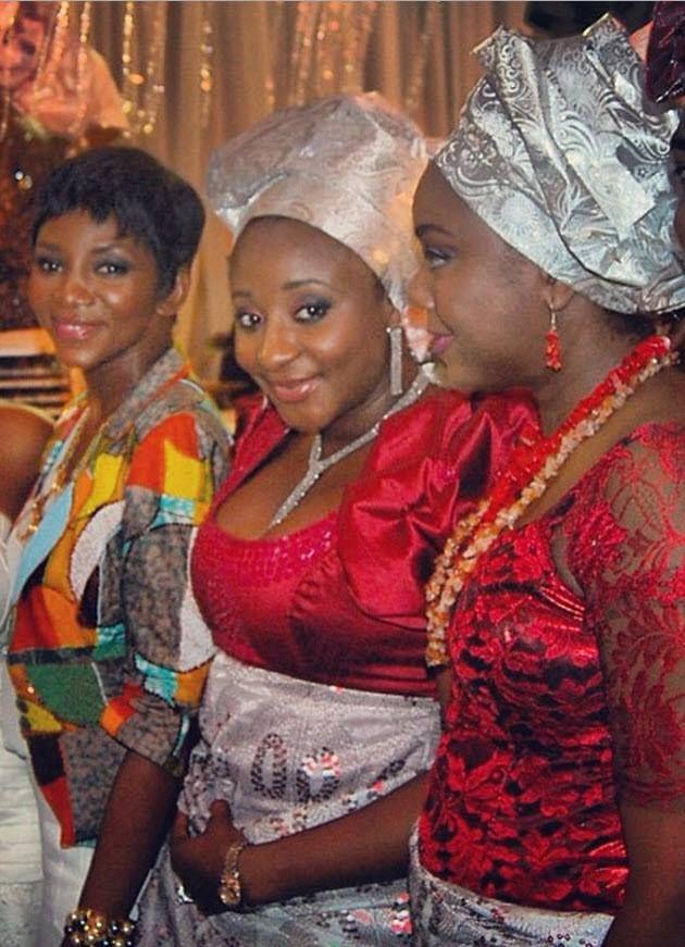 gorgeous Nigerian actresses Genevieve Nnaji,Ini Edo and