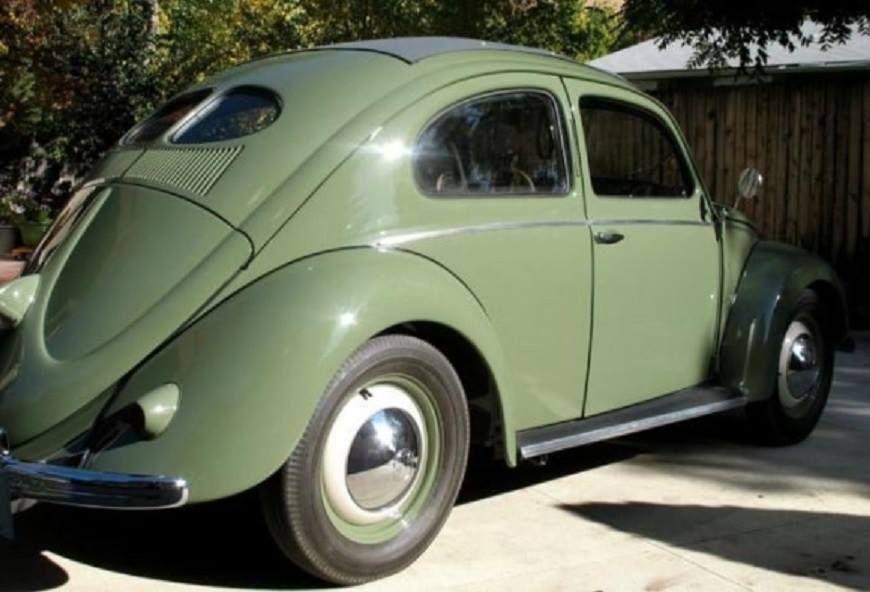 1952 Vw Beetle Split Window Volkswagen Vintage Volkswagen Volkswagen Beetle