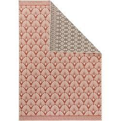 Reduced reversible carpets -  benuta Plus reversible carpet terrazzo beige / red 120×180 cm – modern carpet for Wohnzimmerbenu - #Beadwork #carpets #JewelryMaking #ModernInteriorDesign #reduced #reversible #Scrapbooking